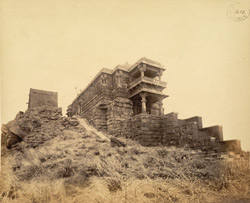 Temple of Amba Mata on Girnar Hill, near Junagadh.